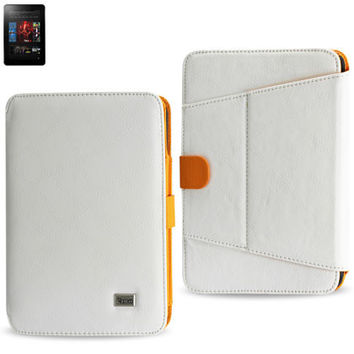 Magnetic closure CASE Amazon Kindle Fire HD 7 inch WHITE