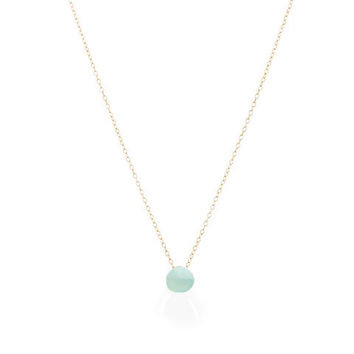 Seafoam Mini Olivia Necklace