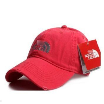 ONETOW Red The North Face Casual Classics Embroidery Cap Hats