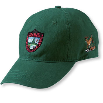 Maine Inland Fisheries and Wildlife Baseball Cap, Deer | L.L.Bean