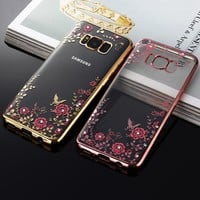 Soft Glitter Case For Samsung Galaxy S8 Plus S7 Edge S6 S5 Neo J5 Prime Note 4 3 5 Grand J2 Prime J7 J3 2016 A3 A5 2017 Case
