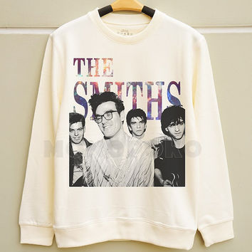S M L -- Galaxy The Smiths Shirts The Smiths TShirts Rock Sweatshirt Tee Jumpers Long Sleeve Shirts Sweater Unisex Women TShirts Men TShirts
