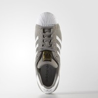 adidas Superstar Suede Shoes - Grey | adidas US