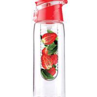 Flavor-Infuser Water Bottle - Red | HOTTT.COM