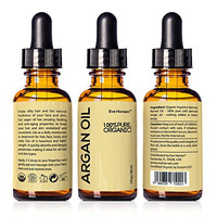 Organic ARGAN Oil 30ml - Naturally Rich in Anti-Aging VITAMIN E - 100% Pure & Certified - SEE RESULTS OR MONEY-BACK - For NATURAL Face Moisturizing, Hair Treatment, Skin & Nail Care
