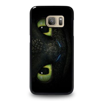 toothless how to train your dragon samsung galaxy s7 case cover  number 1