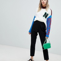Noisy May cigarette PANTS at asos.com