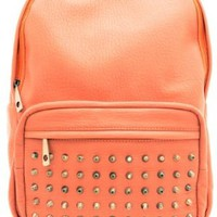 Studded BackPack - Coral