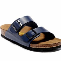 Men's and Women's BIRKENSTOCK sandals Arizona Birko-Flor 632632288-080