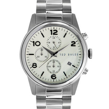 Ted Baker Mens Stainless Steel Chronograph Watch