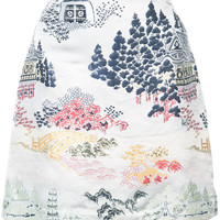 Adam Lippes Jacquard Mini Skirt - Farfetch