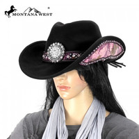 Montana West CHT-9013 Cowgirl Hat