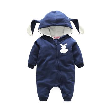 Bunny bebes rompers baby clothes fashion baby costume newborn long sleeve rompers hot baby costume halloween
