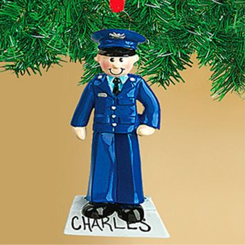 Air Force Christmas Customizable Tree figure