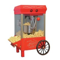 Nostalgia Electrics™ Old Fashioned Red Kettle Corn Popper