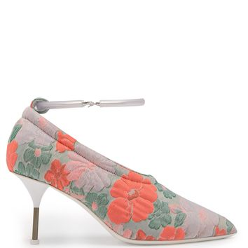 Floral brocade bracelet-strap pumps | Jil Sander | MATCHESFASHION.COM UK