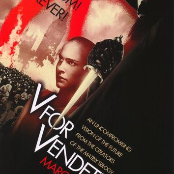 V for Vendetta 27x40 Movie Poster (2006)