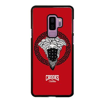 CROOK AND CASTLES BANDANA RED Samsung Galaxy S9 Plus  Case