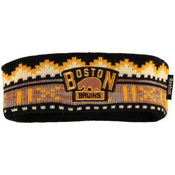 Women's Boston Bruins Reebok Black 2016 Winter Classic Headband