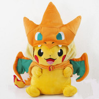Pokemon Pikachu Stuffed Animals Soft Toys Fashion Pokemon Plush Doll