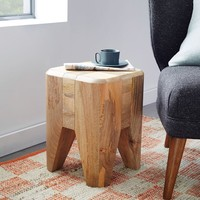 Blockwork Side Table