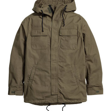 Hooded Parka - from H&M