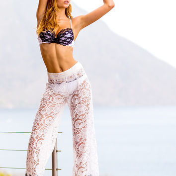 Sauvage Lace Pants - Bardot