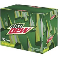 Mountain Dew Soda, 12 fl oz, 30 pack - Walmart.com