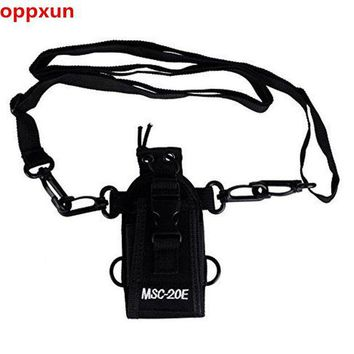 ONETOW OPPXUN MSC-20E Walkie talkie bag&Nylon Radio Case Holster for handheld Baofeng UV-5R B5