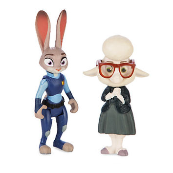 Disney - Judy Hopps & Assistant Mayor Bellwether Figure Set - Zootopia