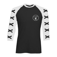 5SOS: Cross Sleeve Baseball Shirt