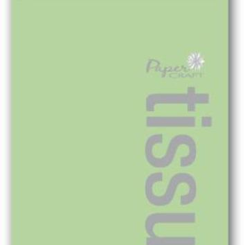 8 Sheet Color Tissue Paper - Lime Green - CASE OF 72