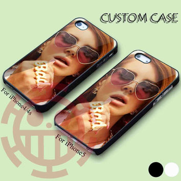 Lana Del Rey for iPhone 5/5S, 5C Case, iPhone 4/4S Case, Samsung Galaxy S3 i9300, S4 i9500 Case.