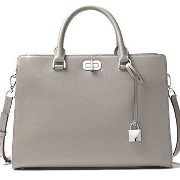 Michael Kors Sylvie Large Leather Satchel