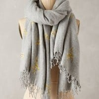 Animal Serenade Scarf by Anthropologie in Grey Size: One Size Scarves