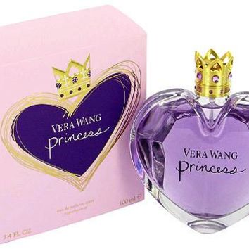 Princess for Women by Vera Wang EDT Spray 3.4 oz (New in Sealed Box)