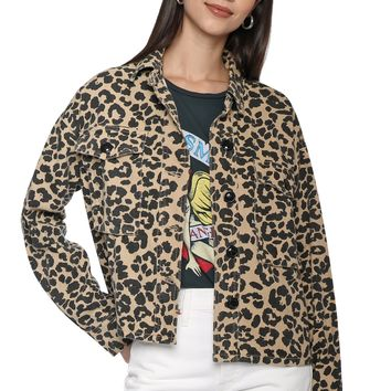 Brooklyn Karma Leopard Jacket
