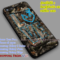 Love Browning Deer Camo iPhone 6s 6 6s+ 6plus Cases Samsung Galaxy s5 s6 Edge+ NOTE 5 4 3 #art dl5