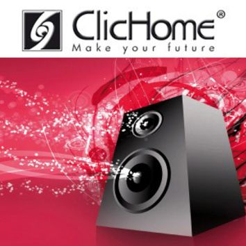 SOUND AND MUSIC AMPLIFICATION SYSTEM AUDIOVIDEO INTEGRATION | DOMOTICA CLICHOME