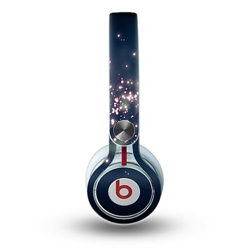 The Dark & Glowing Sparks Skin for the Beats by Dre Mixr Headphones