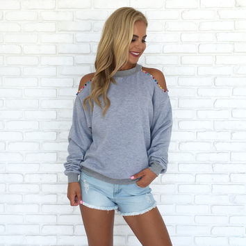 Colors of the Wind Sweater in Grey