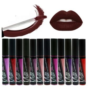 exy Long Lasting Waterproof Matte Lipstick Makeup Moisturizer Lip Gloss  [6269722628]