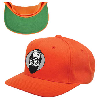 duck dynasty free speech snapback hat
