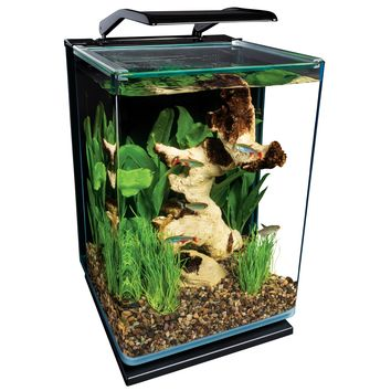 Marineland Portrait Glass LED Aquarium Kit