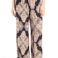 Band of Gypsies Paisley Print Woven Pants | Nordstrom