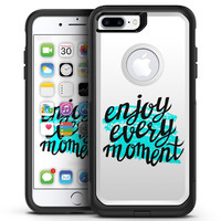 Enjoy Every Moment - iPhone 7 or 7 Plus Commuter Case Skin Kit