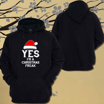 Christmas Freak Hoodie.Sweater.Jumper - Size Unisex Hoodie - For Women,Men