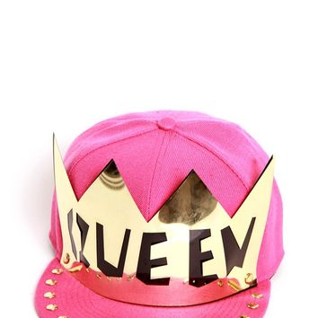 Avril Fuchsia Queen Snapback