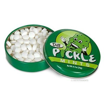 DILL PICKLE mints FLAVORED CANDY GAG GIFT FLAVOR MINTS