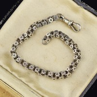 Celestial Star Victorian Watch Chain Bracelet